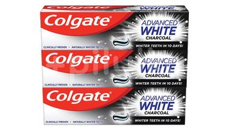 Colgate Zubní pasta Advanced White Charcoal 3x75ml