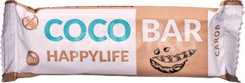 HAPPYLIFE COCO BAR - Kokosová tyčinka s karobem BIO 40g