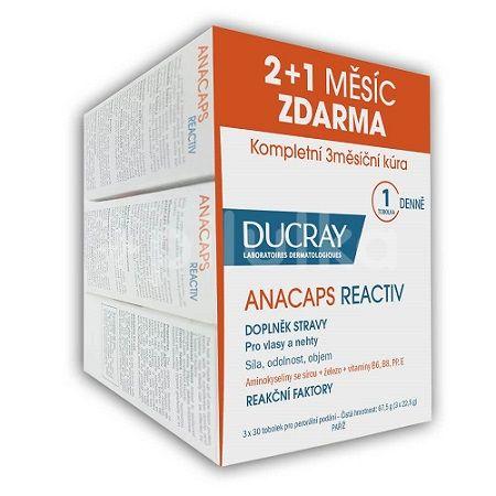 DUCRAY Anacaps Reactiv tob.30 TRIO (2+1 zdarma)