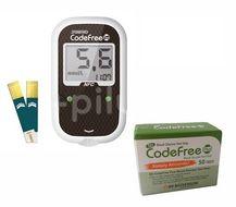 Glukometr SD-Codefree PLUS +50 proužků navíc