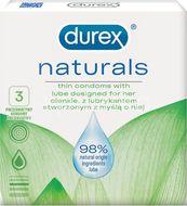 Durex Naturals Kondomy 3ks