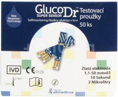 Glucodr diagnostické proužky 50ks