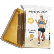 Thera-Band Posilovací guma 2m zlatá - maximálně silná
