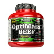 Amix OptiMass Beef Gainer, Double Chocolate with Coconut, 2500g