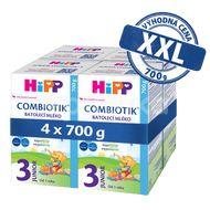 HiPP 3 JUNIOR Combiotik mléko 4x700g