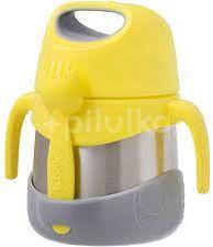 B.box Termoska na jídlo - žlutá/šedá, 335ml