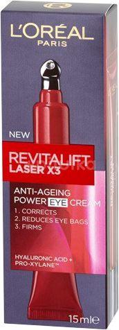 L´Oréal Paris Revitalift Laser X3 oční krém 15ml