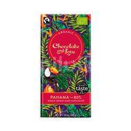Chocolate and Love Panama 80 %, BIO čokoláda 80g