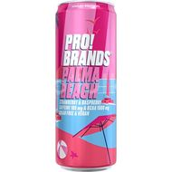PRO!BRANDS BCAA Drink Palma Beach jahoda/malina 330ml