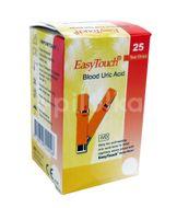 EasyTouch Proužky-kyselina močová 25ks