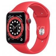 Apple Watch S6 GPS, 44mm PRODUCT(RED) Aluminium Case with PRODUCT(RED) Sport Band, Regular 1ks