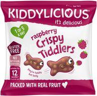 Kiddylicious Rybičky křupavé malinové 12g