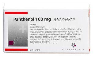 Panthenol 100mg Jenapharm 20 tablet
