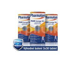 Pharmaton Man ENERGY 30+, 3x30 tablet