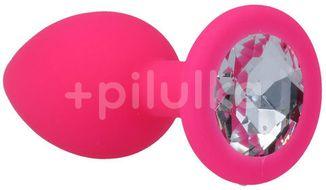 Intense Shelki Anální kolík růžový velikost S