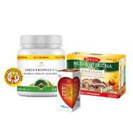 Vitamínový balíček Exclusive Hlíva ústřičná+Vitamín D3+ Green-Komplex