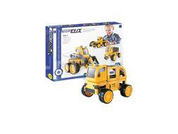 GuideCraft Magnetická stavebnice PowerClix® Stavební stroje