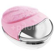 Palsar7 Silikonový kartáček na čištění pleti s podložkou, světle růžový