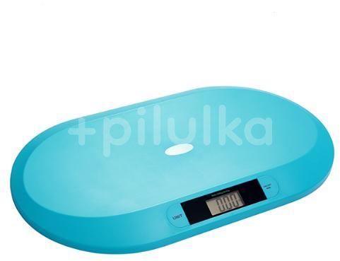 BabyOno BABYONO Váha elektronická pro děti do 20 kg modrá