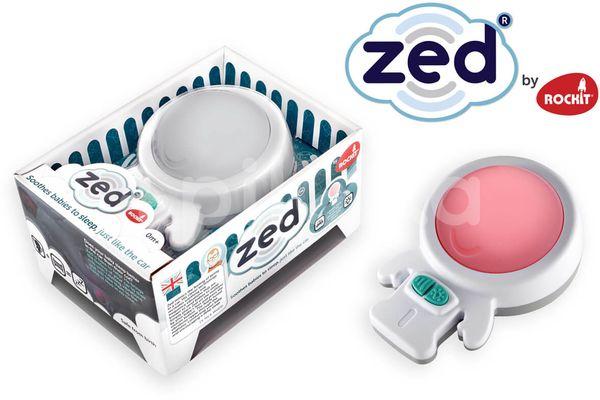 Zed - Vibrační uspávací modul s nočním světlem
