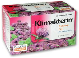Dr.Muller Klimakterin bylinný čaj při menopauze 20x1,5g