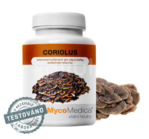 MycoMedica Coriolus 90 veganských kapslí