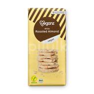 Veganz bílá čokoláda s praženými mandlemi Bio 80g