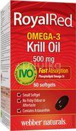 Webber Naturals Omega-3 Krill Oil 500mg 60 tobolek
