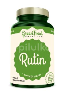 GreenFood Nutrition Rutin 60kapslí