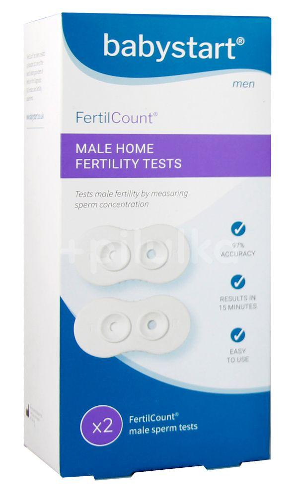 BabyStart Test Mužské plodnosti Fertilcount 2 použití