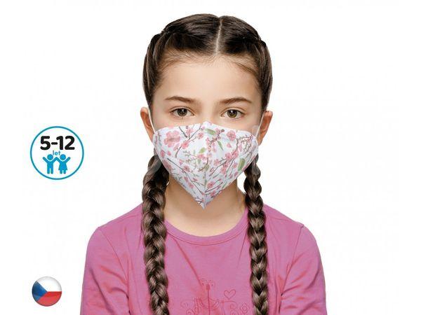 Dama Trade Český respirátor FFP2 vhodný pro děti Sakura 10ks