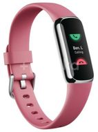Fitbit Luxe Fitness náramek Platinum/Orchid
