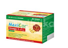 MaxiCor Omega-3 90+30 tobolek