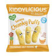 Kiddylicious Velké křupky banánové 12g
