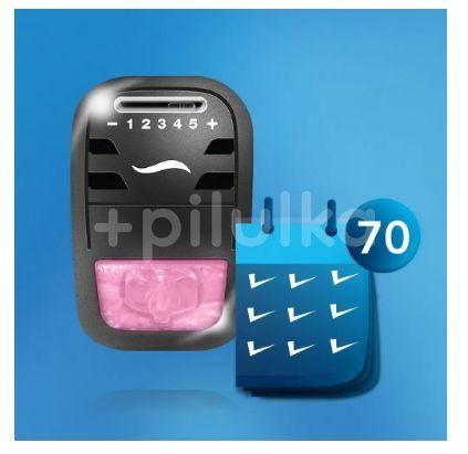 AmbiPur Car strojek +  Moonlight Vanilla 7ml