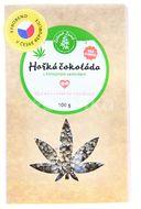 Zelená Země Hořká čokoláda s konopným semínkem 100g