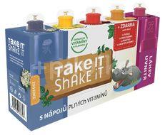 Take it shake it Hroch mix ovocný nápoj 5x20ml