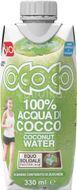 Ococo Bio kokosová voda 100% 330ml