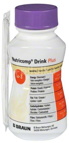 B.Braun Nutricomp Drink Plus Vanilka perorální roztok 4x200ml
