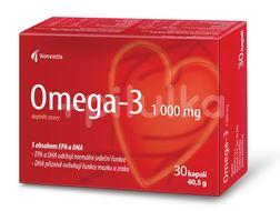 Omega- 3  1000mg pro zdravé srdce a cévy 30 kapslí