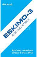 Eskimo-3 rybí olej kapsle 60 kapslí
