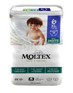 Moltex Pure & Nature Natahovací plenkové kalhotky XL 14+kg 18ks