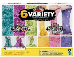 Hasbro Play-Doh 6 Variety - Více druhů písku