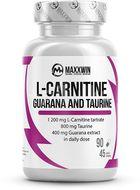 MAXXWIN L-carnitine guarana taurine 90 kapslí