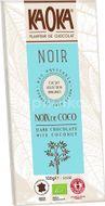 Kaoka Bio hořká čokoláda s kokosem 100g