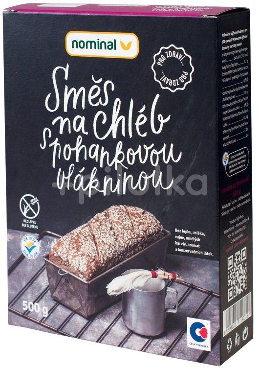 Nominal Směs na chléb s pohankovou vlákninou 500g