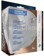 Tex-tech FFP2 respirátor 5ks