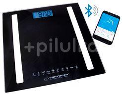 Esperanza Osobní elektronická a diagnostická váha 8v1 s bluetooth B fit - Scale, černá