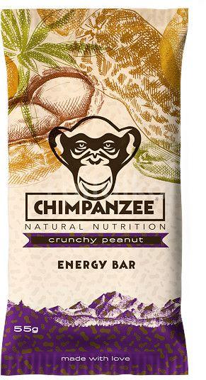 Chimpanzee Energy bar Křupavé arašídy 55g