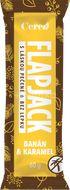 Flapjack Tyčinka Banán karamel 60g